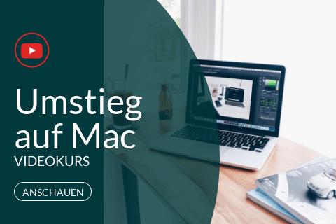 Umstieg auf Mac Videokurs