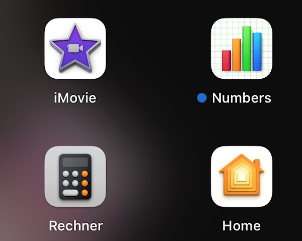 Mac Standardprogramme